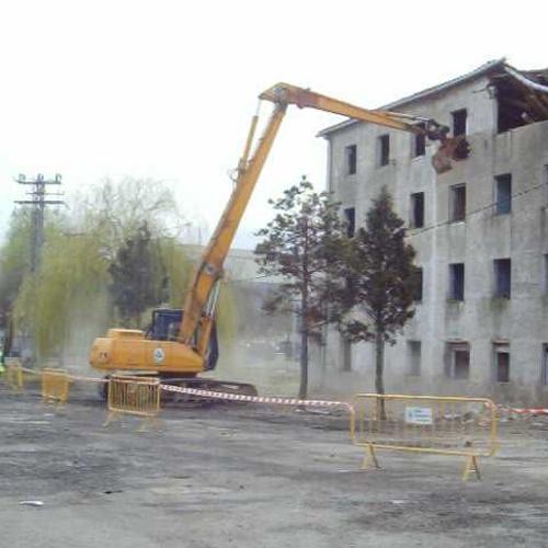 Derribo edificio