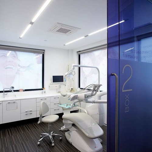 Pintura de sala de dentista en Terrassa