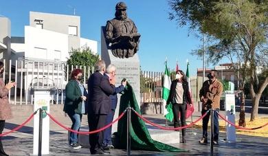 Inauguración de monumento a Casiodoro de Reina