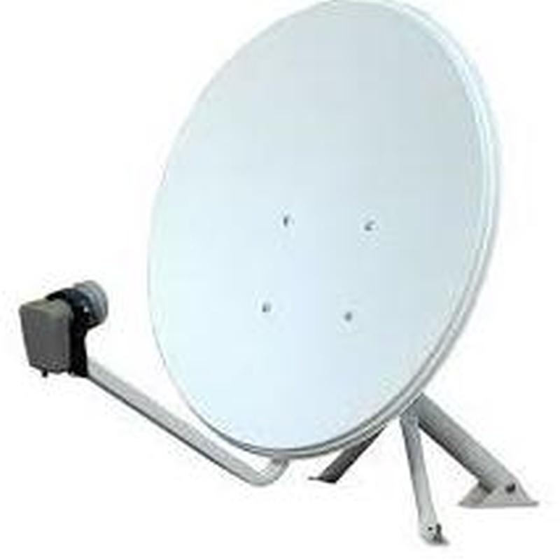 Material de antenas y televisión