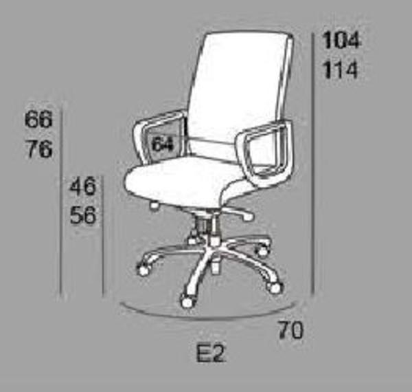 dimensiones sillon E-2