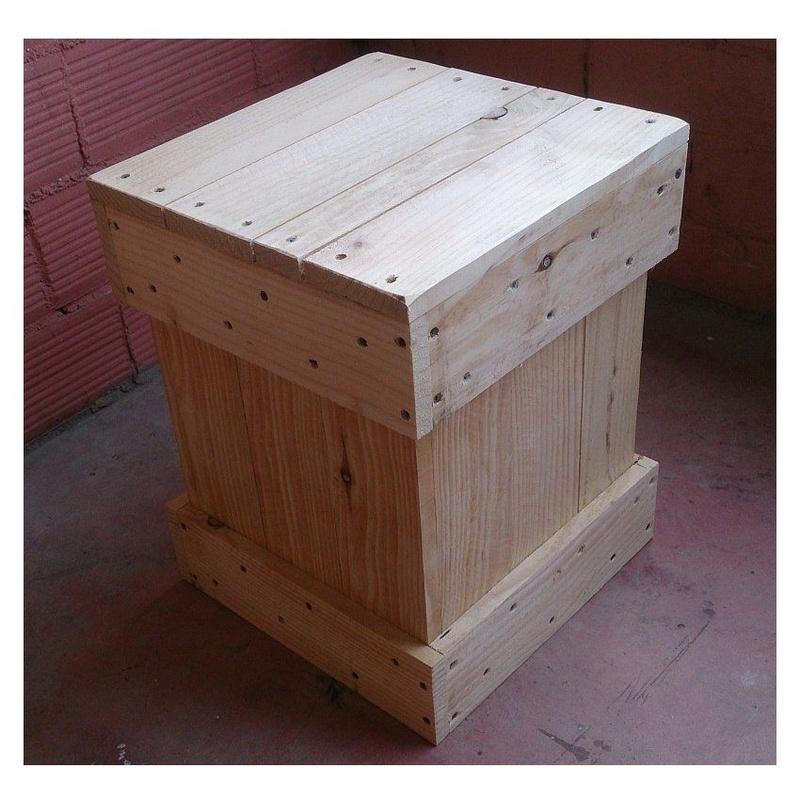 PFF. 043 · Taburete Moncho: Muebles de Paletto´s Furnature