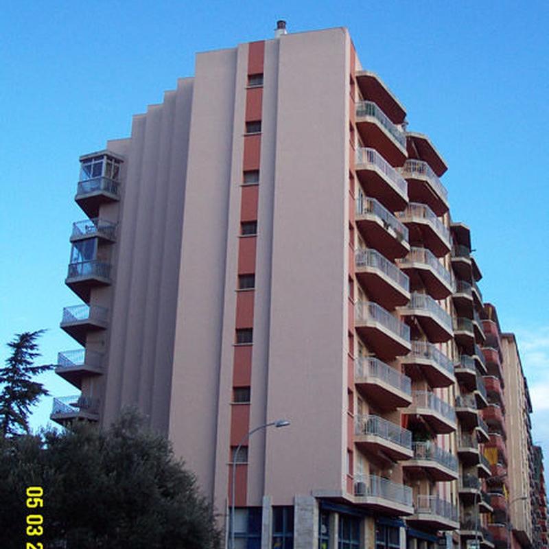 Rehabilitación fachadas: Servicios de Vertigálvez
