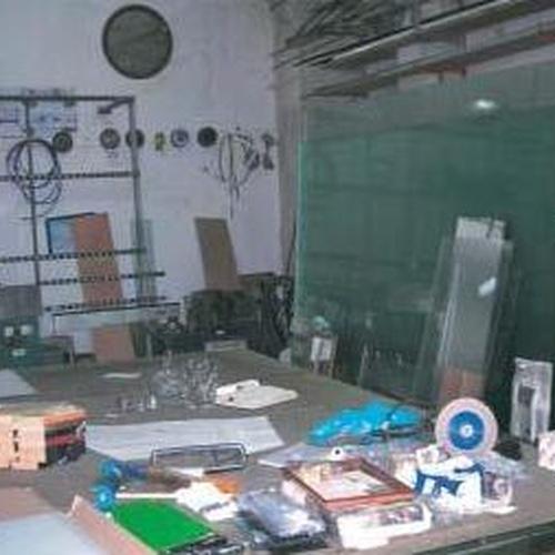 Nuestro taller de cristalería