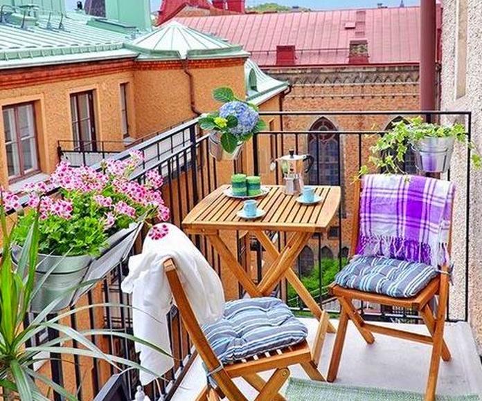 balcones soleados
