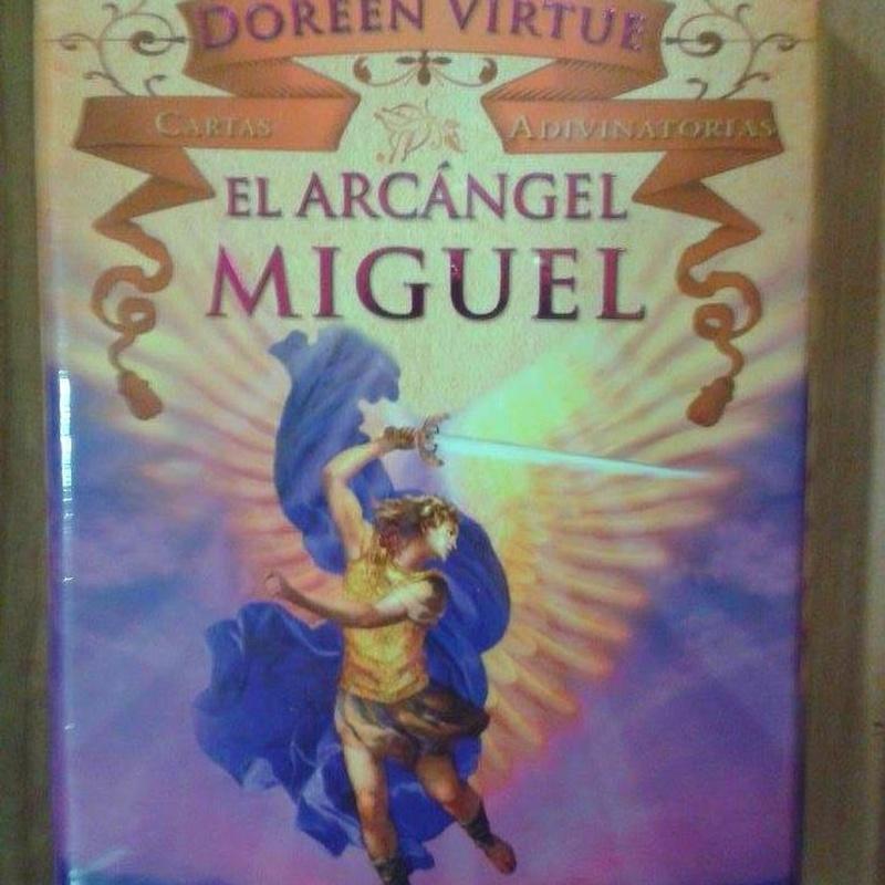 Cartas Arcángel Miguel: Cursos y productos de Racó Esoteric Font de mi Salut