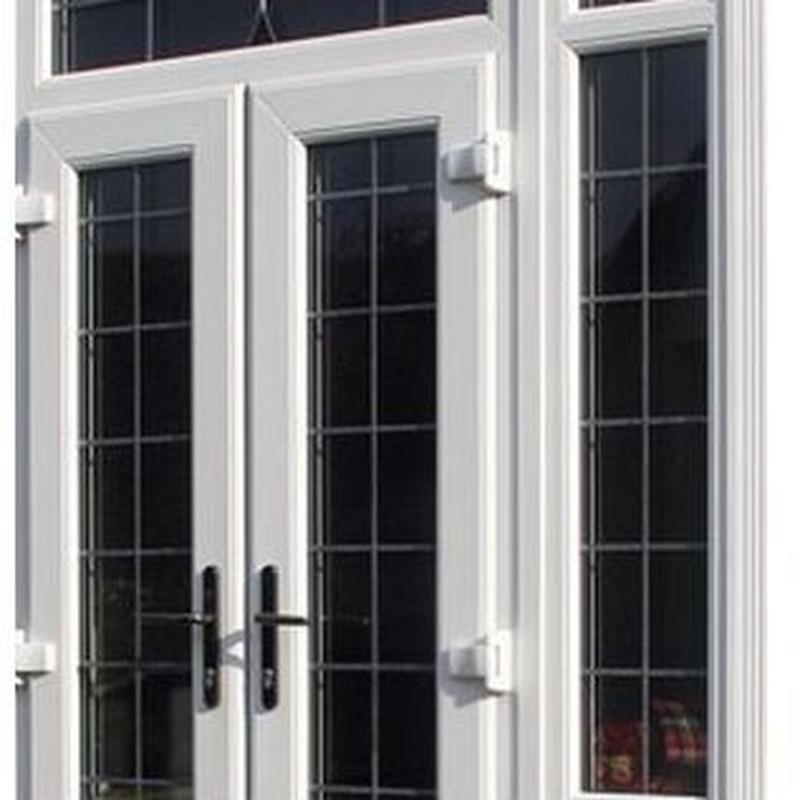 Carpintería de aluminio, metálica y PVC: Productos y servicios de Cristalería y Carpintería Hermanos Meléndez