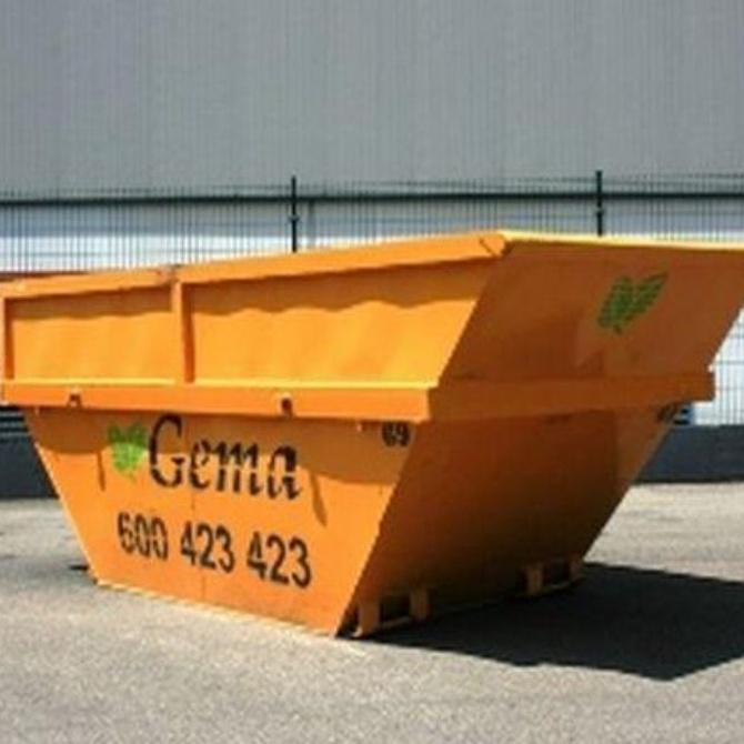 Normas sobre contenedores de obra y residuos en Avilés