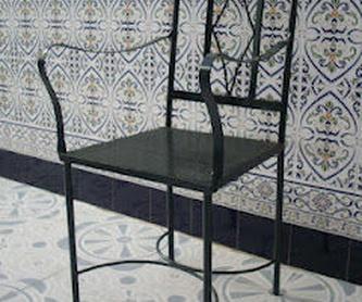 Cabecero Caceres: Catálogo de muebles de forja de Forja Manuel Jiménez