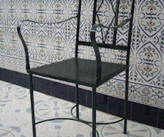 Estantería París: Catálogo de muebles de forja de Forja Manuel Jiménez
