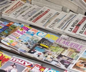 Revistas, prensa, material escolar...