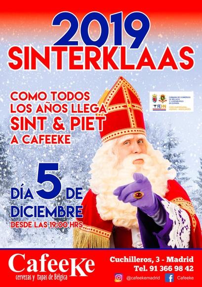 """Como cada año el 5 de diciembre llega """"Sinterklaas"""""""