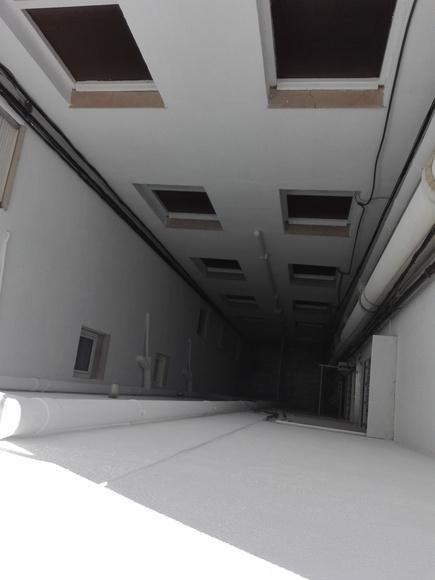 Rehabilitación de patios de luces: Servicios de Fachadas Vallés