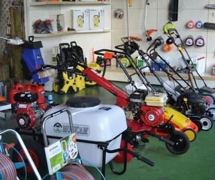 Herramientas y maquinaria para agricultura y jardinería