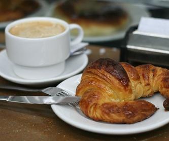 Nuestra carta:  de Cafetería la Bernarda