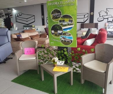 NOVEDAD: mobiliario de jardín en PS Sofás