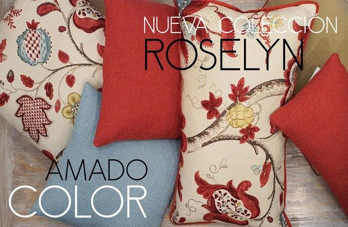 Nueva Colección Cojines ROSELYN: COLECCIONES de Casa Nativa
