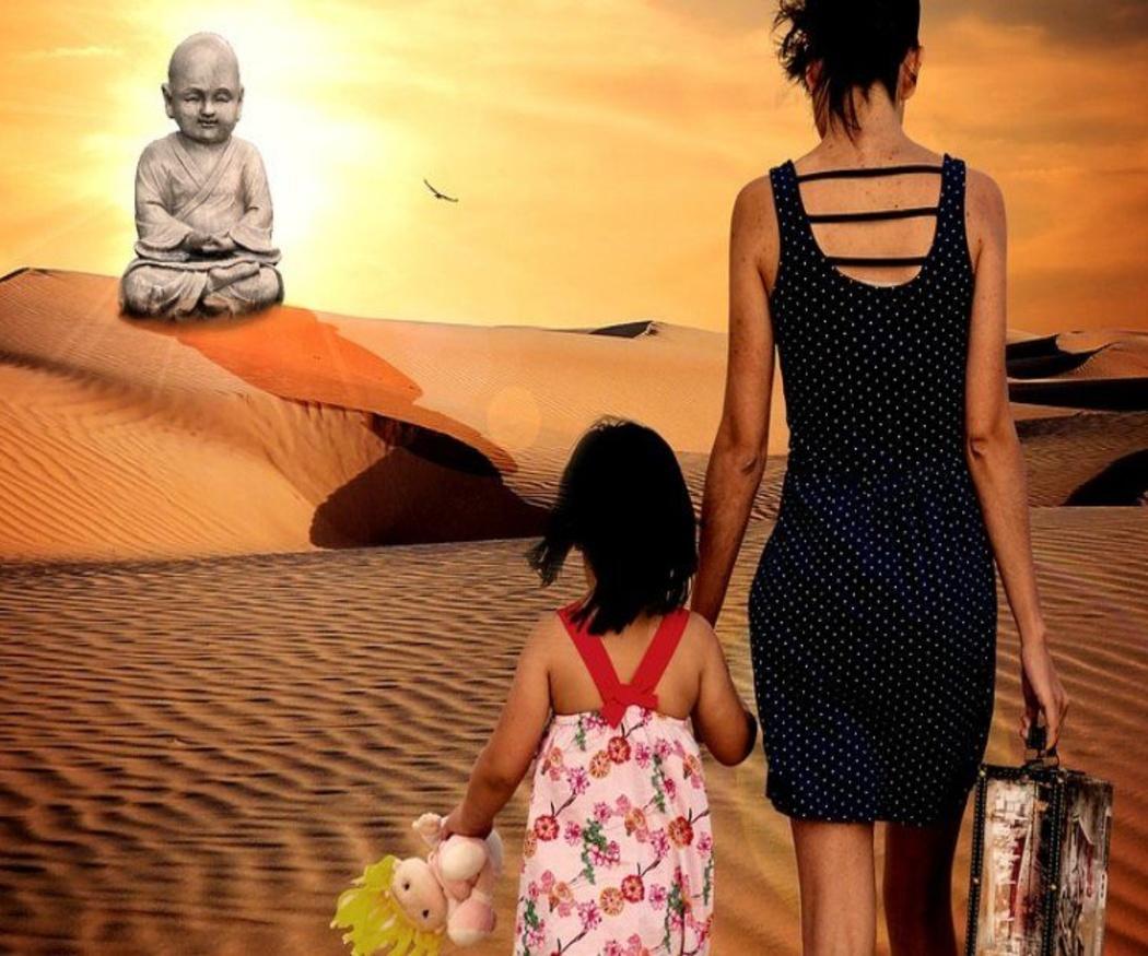 ¿Puedo viajar con mis hijos sin permiso del padre?