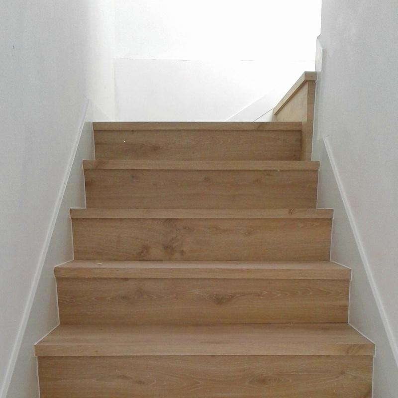 Forrado escaleras: Productos y servicios de Esteban Izquierdo Tarimas y Parquets