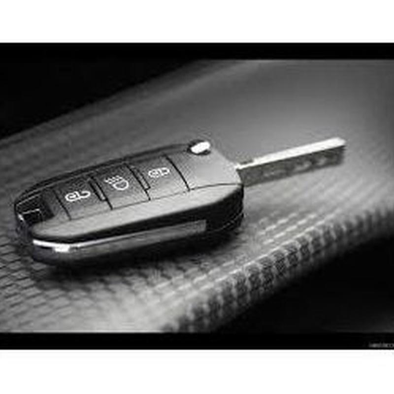 Llave Peugeot, modelo 308, 508. ID 46: Productos de Zapatería Ideal