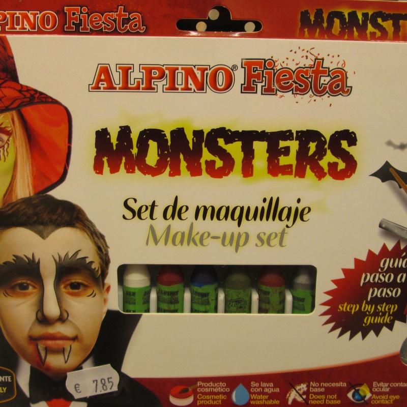 Set de maquillaje ALPIN MONSTRUOS