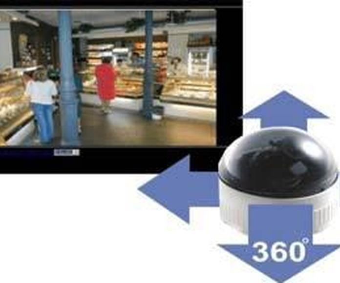 Camaras PTZ con movimiento: Productos  de Comercial Sacrida