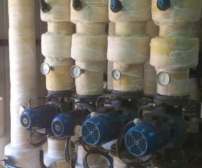 Aislamientos de tuberias: Servicios de Aislamientos Hermanos Mateo
