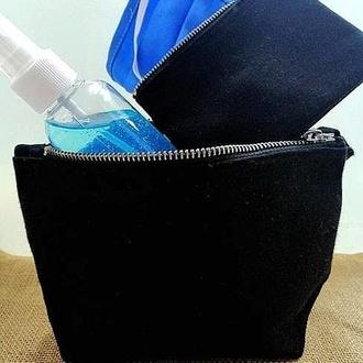 Kit Protección anti-COVID: Mascarilla+Higienizante y autosecante+Neceser