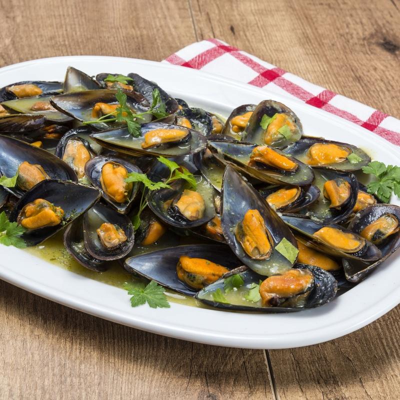 Mejillones al Vapor: Nuestra Carta de Restaurante Coto do Rano
