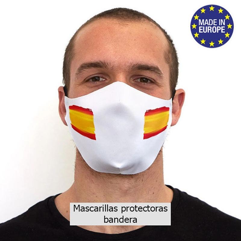 Mascarilla bandera otra herramienta para luchar contra el Coronavirus