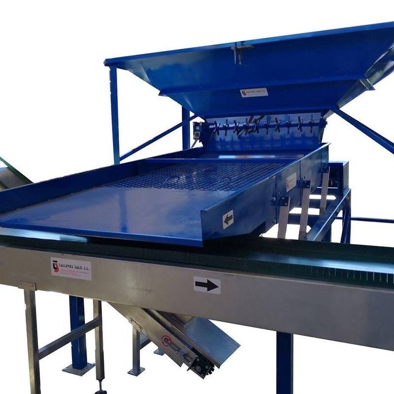 Clasificadora Astillas Madera Biomasa