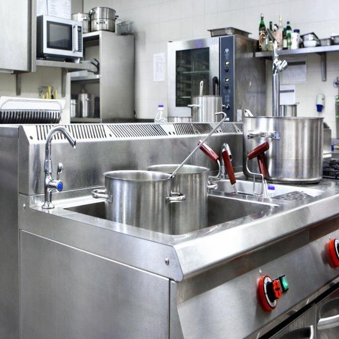 Desengrasar las cocinas industriales