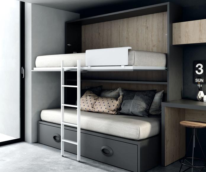 CAMAS ABATIBLES: Nuestros muebles de Muebles Aguado