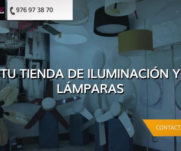 Tiendas de iluminación en Zaragoza | MasLuz Actual