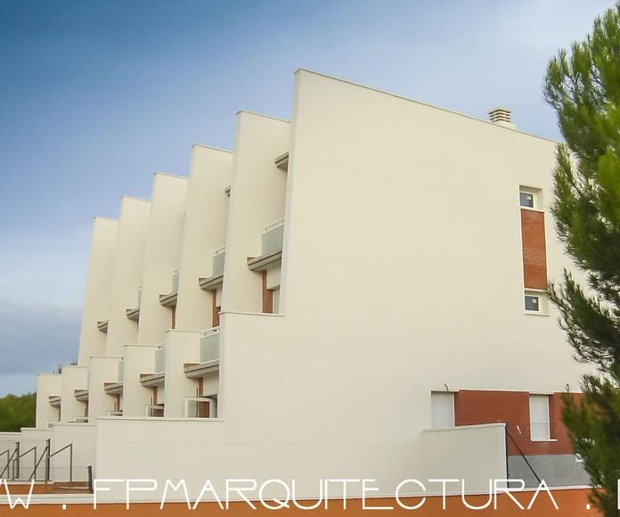 Five Terrace Houses near Hotel Ra. El Vendrell. Tarragona