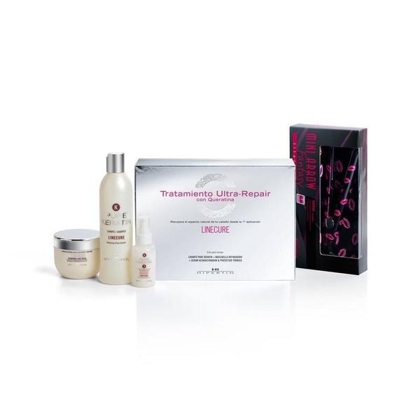 Pack de Tratamiento Ultra-reparador del cabello con Keratina: Servicios de il Corpore Sano