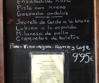 Menú especial: Carta y menús de Restaurante Gonzalo