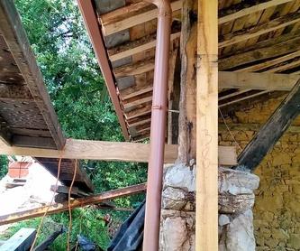 Instalación de canalon de aluminio en Antiguo Caserón: ¿Qué hacemos? de JLT Canalones