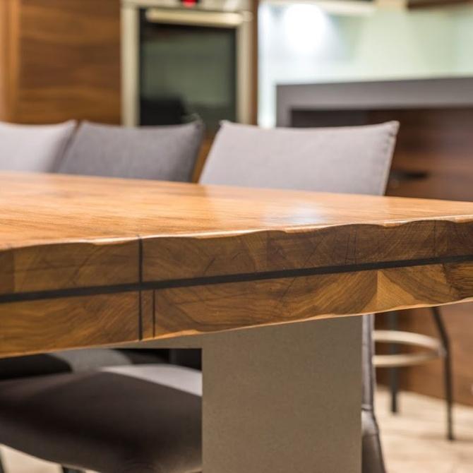 Decoración con muebles de madera