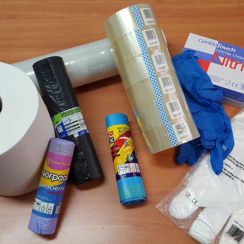 Guantes y bolsas de basura: Productos de Baysan Embalajes Alimentación