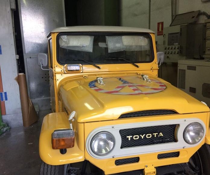 Restauración de coches: Servicios de RC Automóviles