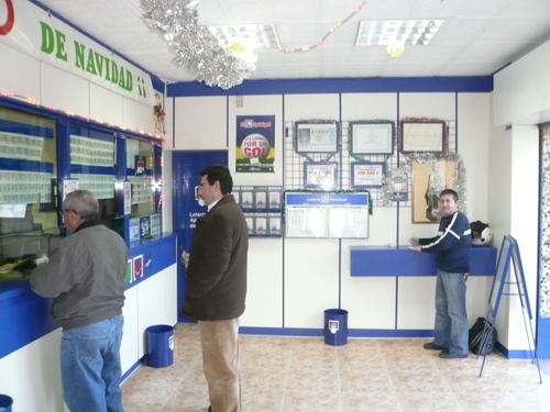 Comprar lotería en Valencia