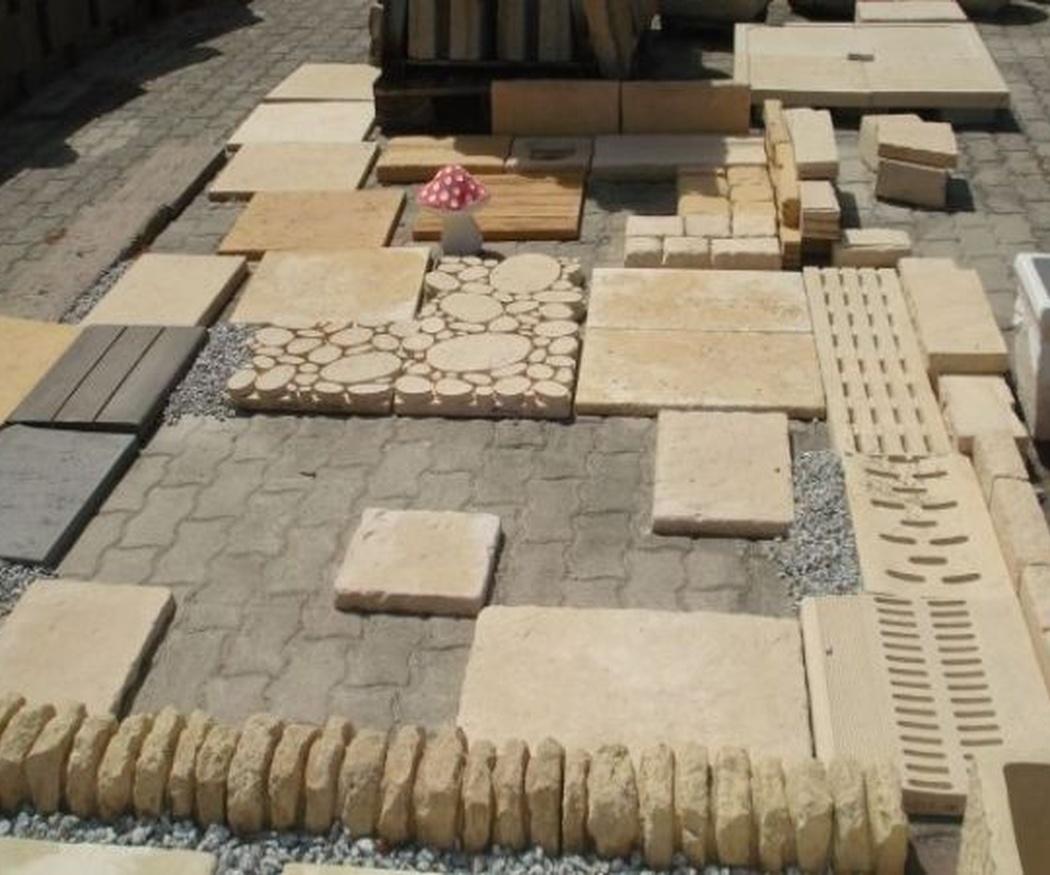 Productos útiles para la limpieza de la piedra
