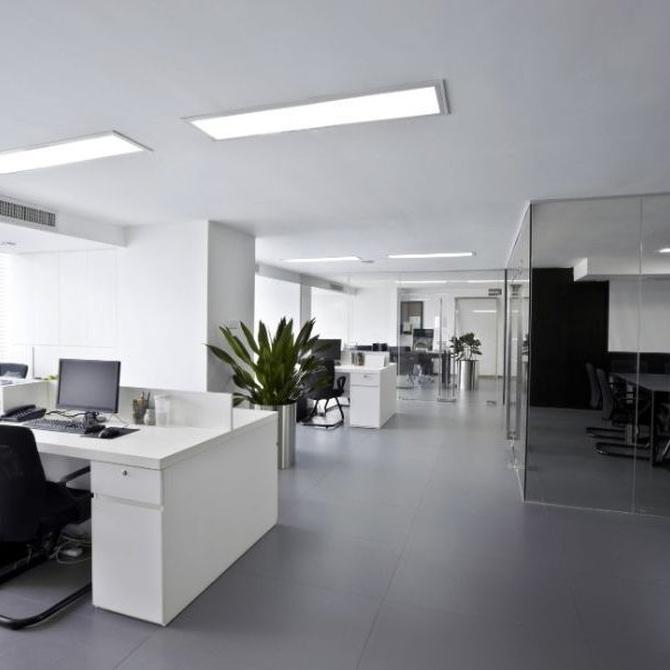 Procedimiento de limpieza de oficinas