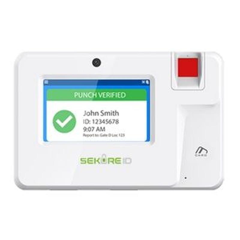 SekureID Lector biométrico autónomo de presencia: Productos y Servicios de CCTV BURGOS