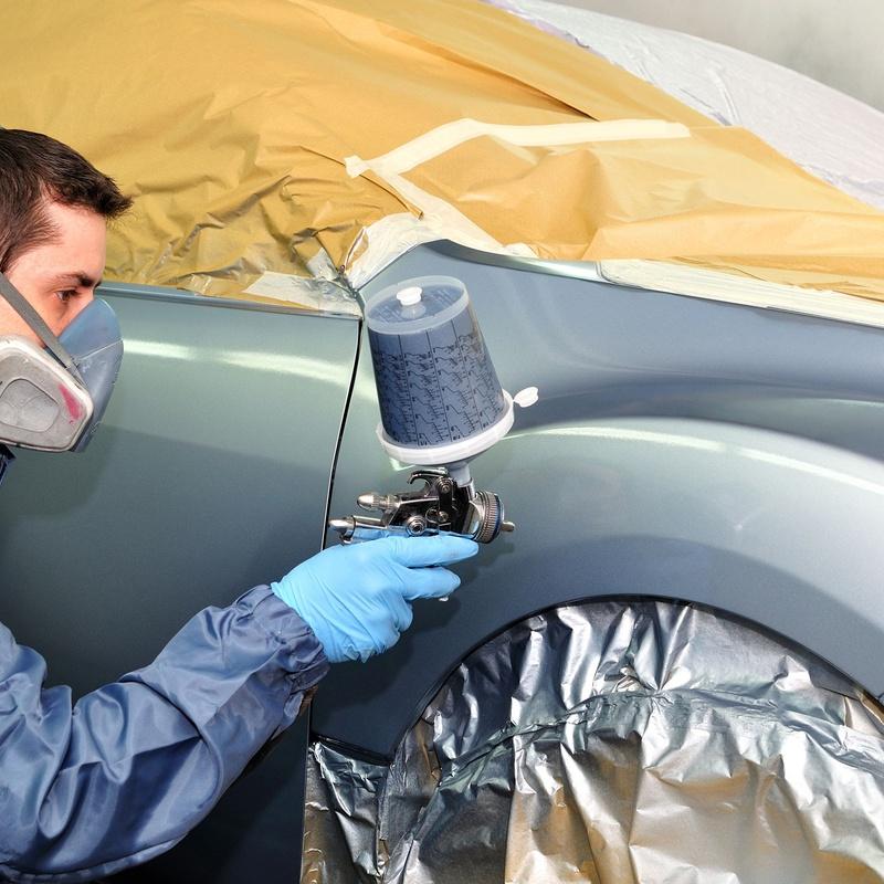 Pintura completa de vehículo con financiación: Servicios de TALLER MENGACAR