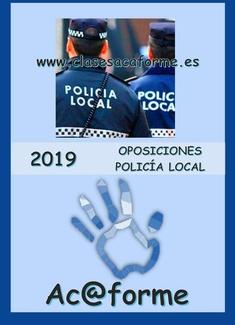 PREPARACIÓN OPOSICIONES POLICÍA LOCAL