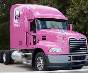 Camión rosa