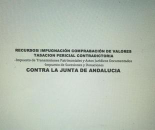 COMPROBACION DE VALORES - Transmisiones Patrimoniales,AJD, Sucesiones,Donac