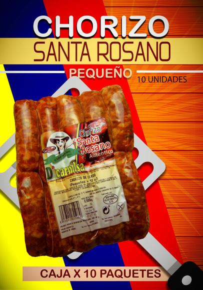 Chorizo ahumados Santa rosano x 10: PRODUCTOS de La Cabaña 5 continentes